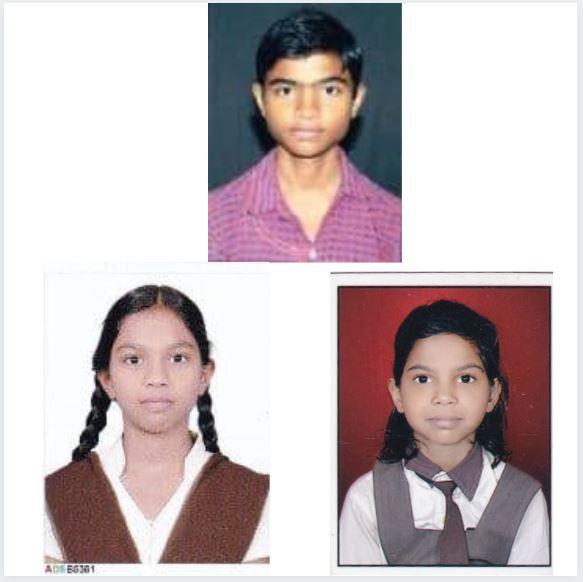 Yashwant, Sanika and Rohini