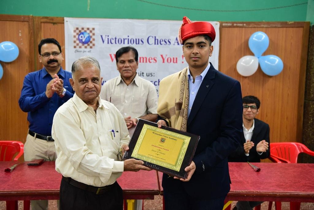 Felicitation Abhimanyu Puranik