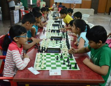 Beginner section of Open Rapid tournament of Victorious Chess Academy