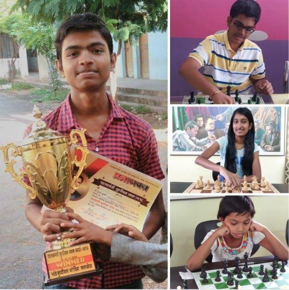 Yashwant Telang, Sanika Telan, Disha Dhoreg and Ameya Munemane