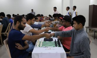 Advance section of Open Rapid tournament of Victorious Chess Academy