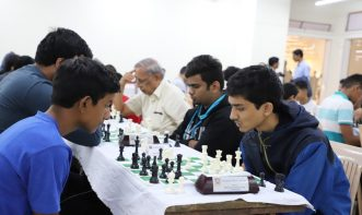 Intermediate section of Open Rapid tournament of Victorious Chess Academy