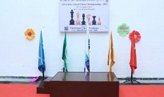 VIVA Inter School chess Championship- 2017 flag presentaion