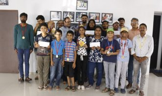 winners_of_3rd_saturday rapid Tournament Of Victorious Chess Academy with Prizes