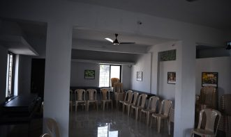 Small event hall of Victorious Chess Academy