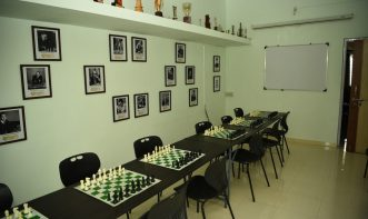 Classroom interior of Victorious Chess Academy