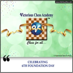 The 6th Foundation Day of Victorious Chess Academy