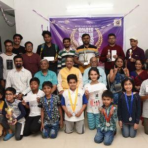winner of golden jubilee chess tournament